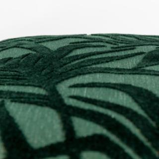 Coussin Miami - Tissu velours à motifs feuilles