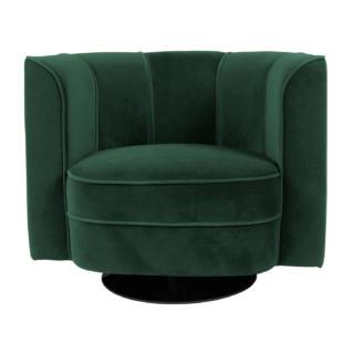 Fauteuil Flower Lounge Bar pour bureau professionnel Vert