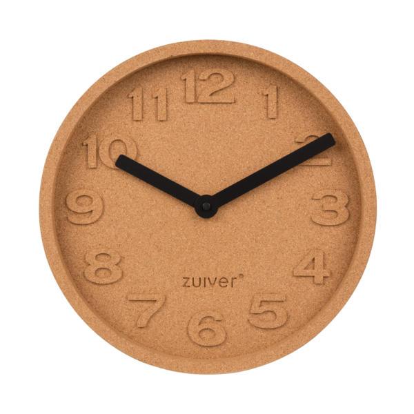 Horloge murale en liège Cork Time