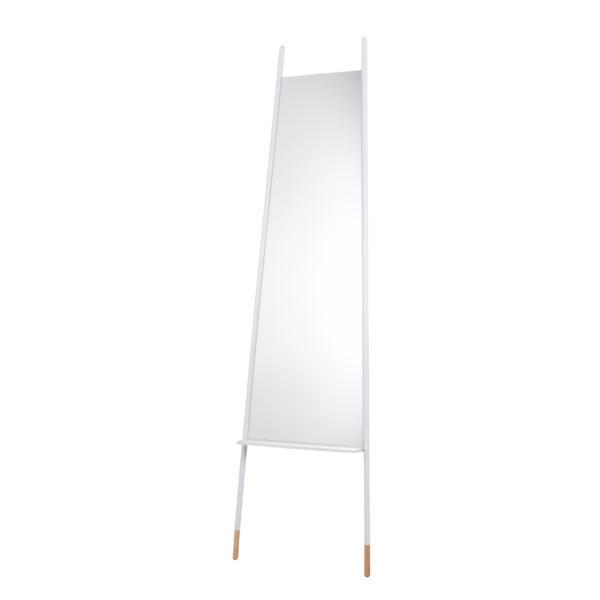 Miroir à poser blanc Leaning