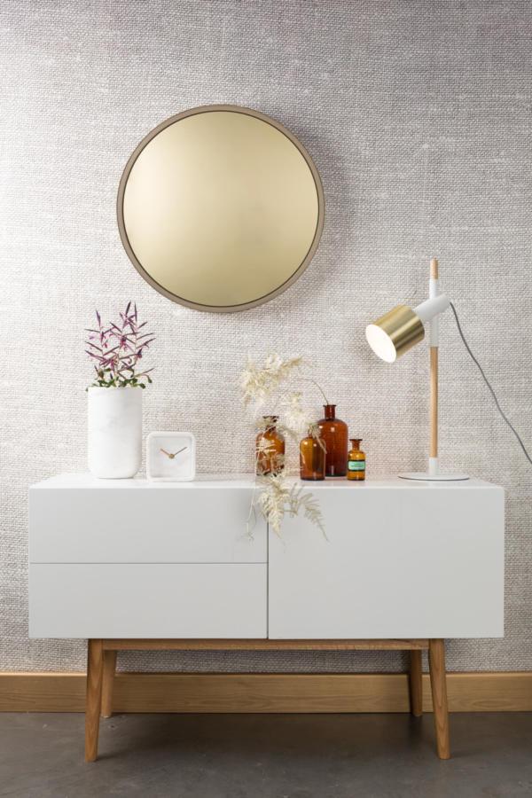 Miroir teinté or ou cuivre Bandit