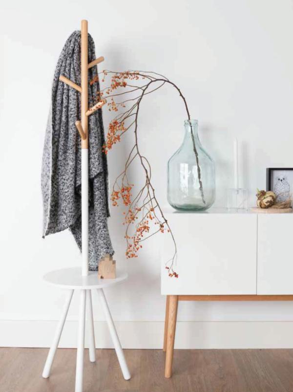 Portemanteau style scandinave Table Tree