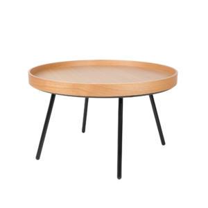 Table basse ronde en bois Oak