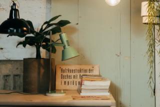 Décoration vintage pour bureau